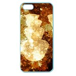 Sparkling Lights Apple Seamless iPhone 5 Case (Color) Front