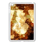 Sparkling Lights Apple iPad Mini Case (White) Front