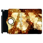 Sparkling Lights Apple iPad 2 Flip 360 Case Front