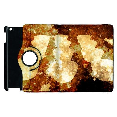 Sparkling Lights Apple iPad 3/4 Flip 360 Case