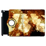 Sparkling Lights Apple iPad 3/4 Flip 360 Case Front