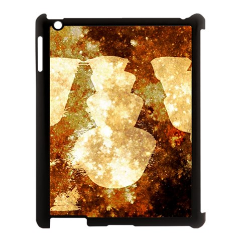 Sparkling Lights Apple iPad 3/4 Case (Black)