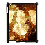 Sparkling Lights Apple iPad 3/4 Case (Black) Front