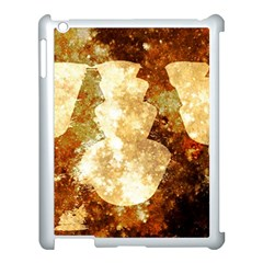 Sparkling Lights Apple iPad 3/4 Case (White)