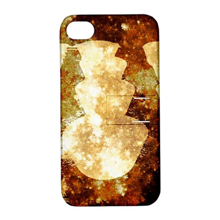 Sparkling Lights Apple iPhone 4/4S Hardshell Case with Stand