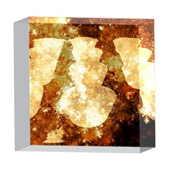 Sparkling Lights 5  x 5  Acrylic Photo Blocks