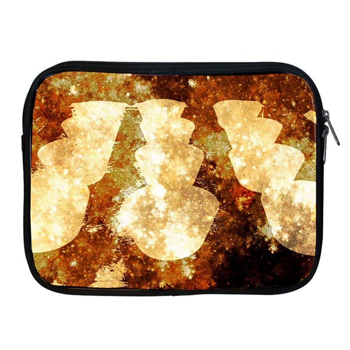 Sparkling Lights Apple iPad 2/3/4 Zipper Cases