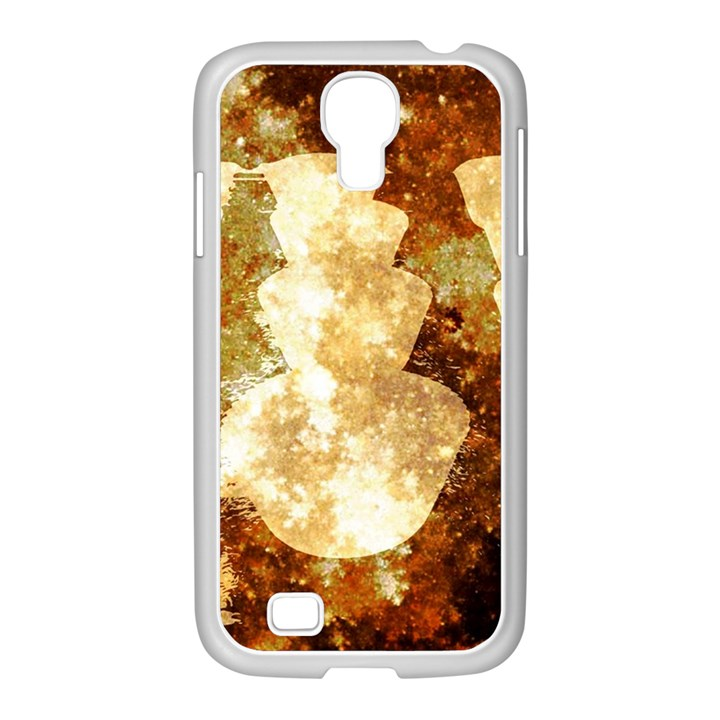 Sparkling Lights Samsung GALAXY S4 I9500/ I9505 Case (White)