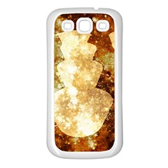 Sparkling Lights Samsung Galaxy S3 Back Case (White)