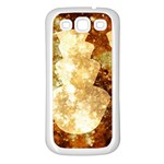 Sparkling Lights Samsung Galaxy S3 Back Case (White) Front