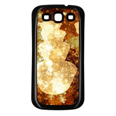Sparkling Lights Samsung Galaxy S3 Back Case (Black)