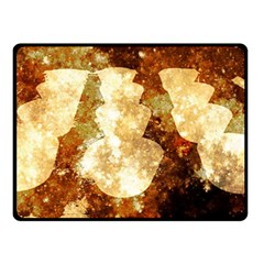 Sparkling Lights Double Sided Fleece Blanket (small)