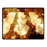 Sparkling Lights Double Sided Fleece Blanket (Small)  45 x34 Blanket Front