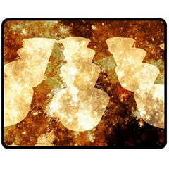 Sparkling Lights Double Sided Fleece Blanket (Medium)