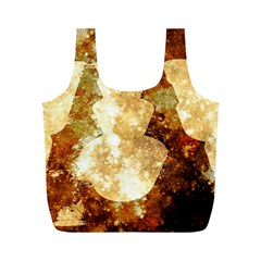 Sparkling Lights Full Print Recycle Bags (M)