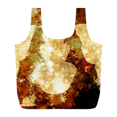 Sparkling Lights Full Print Recycle Bags (L)