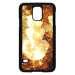 Sparkling Lights Samsung Galaxy S5 Case (Black) Front