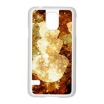 Sparkling Lights Samsung Galaxy S5 Case (White) Front