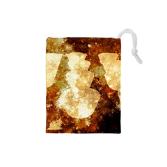 Sparkling Lights Drawstring Pouches (small)