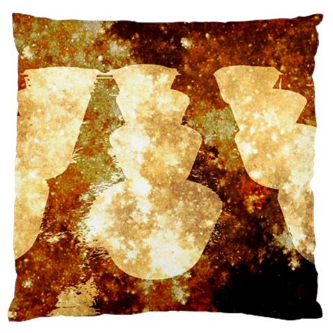 Sparkling Lights Large Flano Cushion Case (One Side)