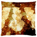 Sparkling Lights Large Flano Cushion Case (Two Sides) Back