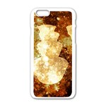 Sparkling Lights Apple iPhone 6/6S White Enamel Case Front