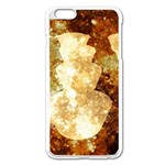 Sparkling Lights Apple iPhone 6 Plus/6S Plus Enamel White Case Front