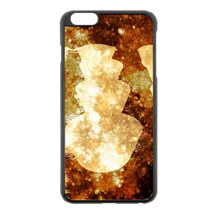 Sparkling Lights Apple iPhone 6 Plus/6S Plus Black Enamel Case