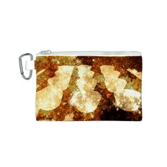 Sparkling Lights Canvas Cosmetic Bag (S)