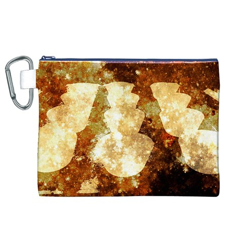 Sparkling Lights Canvas Cosmetic Bag (XL)