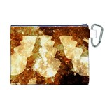 Sparkling Lights Canvas Cosmetic Bag (XL) Back