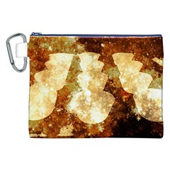 Sparkling Lights Canvas Cosmetic Bag (xxl)