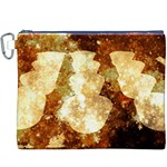 Sparkling Lights Canvas Cosmetic Bag (XXXL) Front