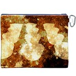 Sparkling Lights Canvas Cosmetic Bag (XXXL) Back