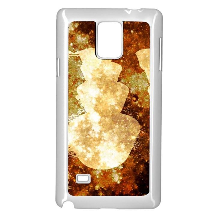 Sparkling Lights Samsung Galaxy Note 4 Case (White)