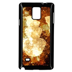 Sparkling Lights Samsung Galaxy Note 4 Case (Black)