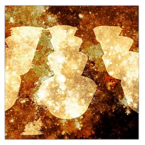 Sparkling Lights Large Satin Scarf (Square)