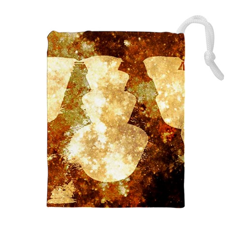 Sparkling Lights Drawstring Pouches (Extra Large)