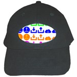 Download Upload Web Icon Internet Black Cap Front
