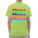 Download Upload Web Icon Internet Green T-Shirt Back