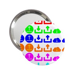 Download Upload Web Icon Internet 2.25  Handbag Mirrors