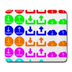 Download Upload Web Icon Internet Large Mousepads