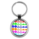 Download Upload Web Icon Internet Key Chains (Round)  Front