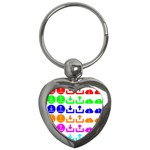 Download Upload Web Icon Internet Key Chains (Heart)  Front