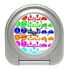 Download Upload Web Icon Internet Travel Alarm Clocks