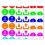 Download Upload Web Icon Internet Rectangular Jigsaw Puzzl Front