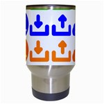 Download Upload Web Icon Internet Travel Mugs (White) Center