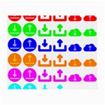 Download Upload Web Icon Internet Small Glasses Cloth Front