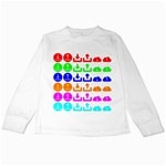 Download Upload Web Icon Internet Kids Long Sleeve T-Shirts Front