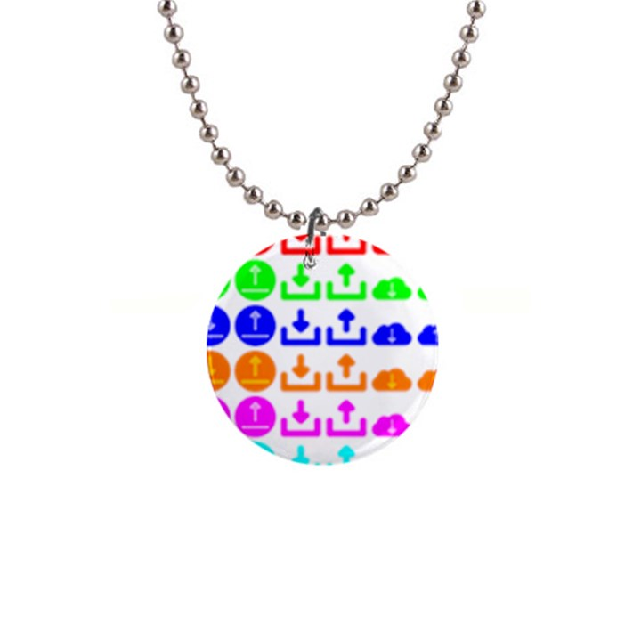Download Upload Web Icon Internet Button Necklaces